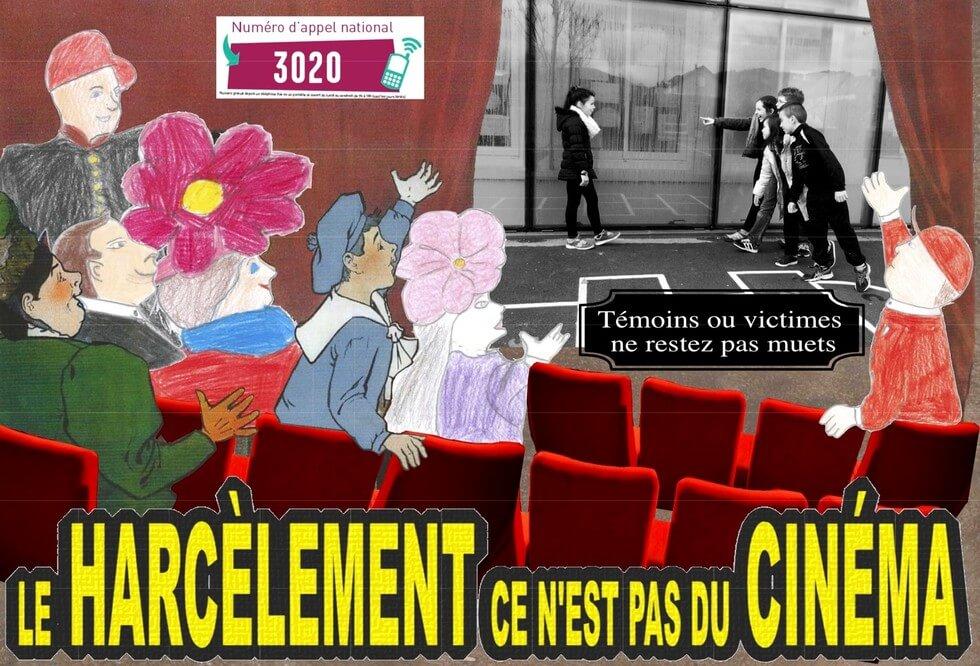 Le harcèlement ce n'est pas du cinéma