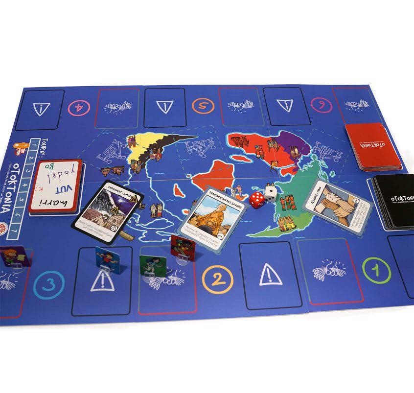 Le plateau de jeu complet