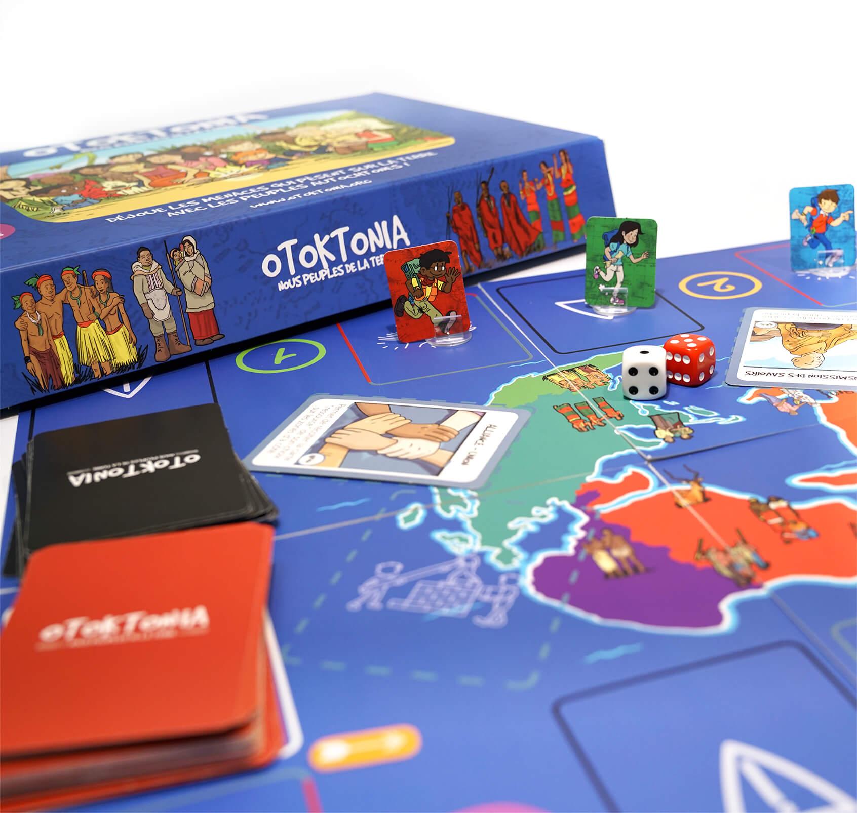 Découvre Otoktonia, un jeu de société coopératif