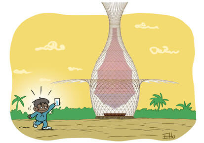 Warka water, la tour qui transforme l'air en eau