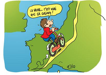 Une voie pour aller de l'Espagne à la Norvège à vélo