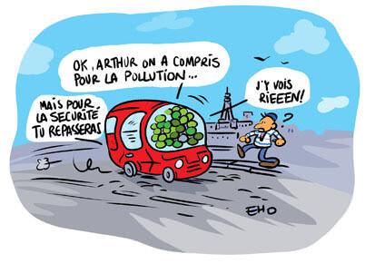 Des nouvelles vignettes antipollution
