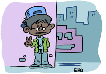 "Expo ""Hello my game is… street art"""