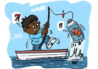 Les pêcheurs du Kérala nettoient l'océan Indien