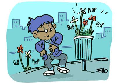 Des graines de fleurs offertes aux Nantais
