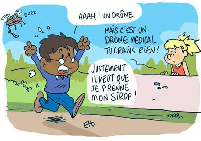 Des drones pour livrer des médicaments au Rwanda