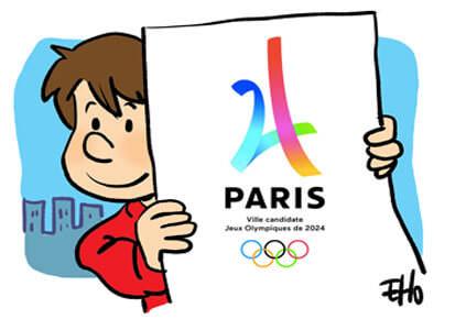 Candidature de Paris pour les J.O de 2024