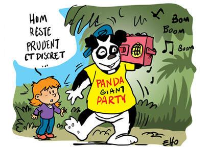 Le panda géant n'est plus une espèce en danger