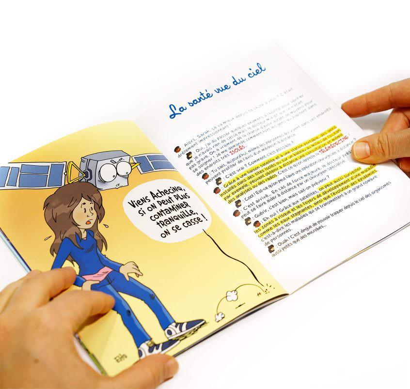 Livre ouvert - Et si on s'parlait de l'espace