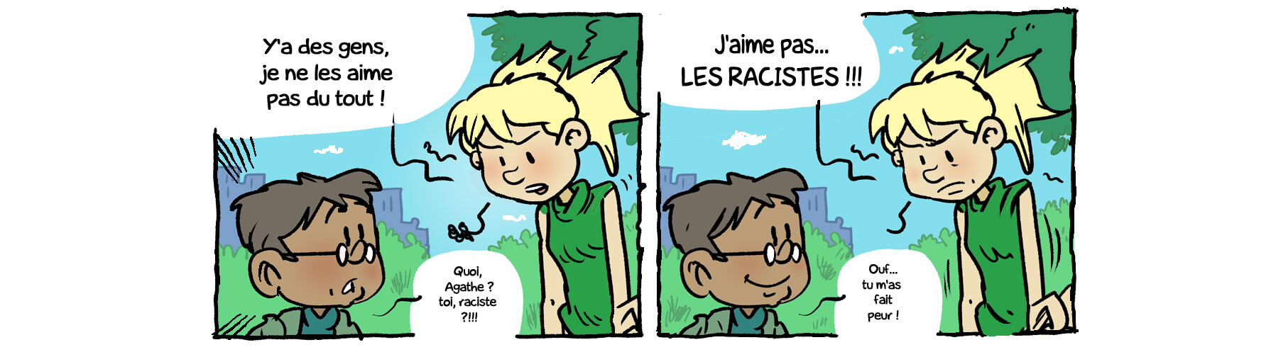 Tous unis contre le racisme