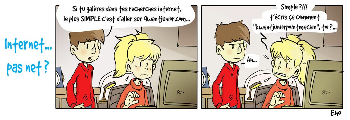 Comment chercher une info sur Internet ?
