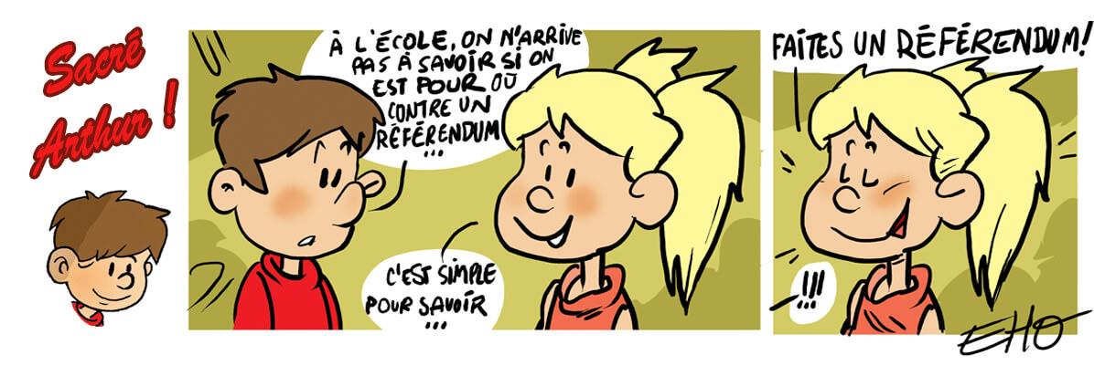 Le référendum, la parole aux citoyens !