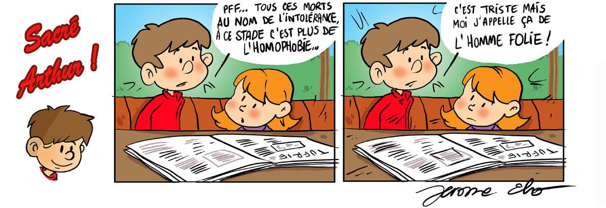 Stop à l'homophobie !