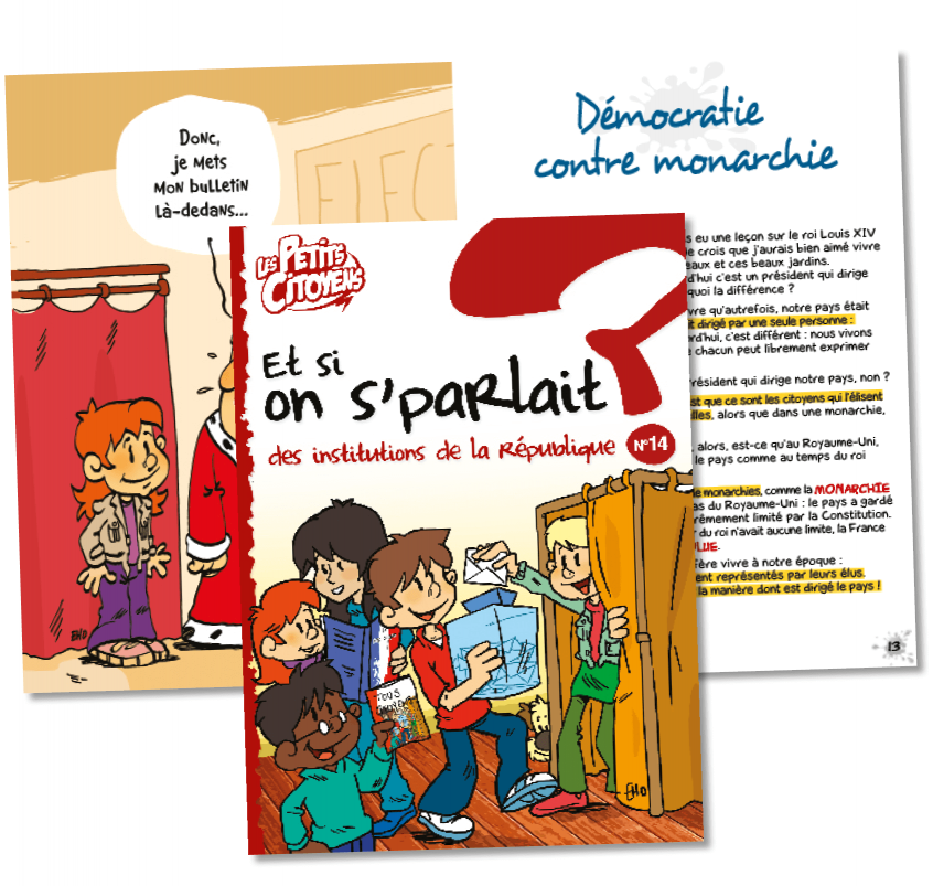 "Couverture de ""Et si on s'parlait des institutions de la république ? """