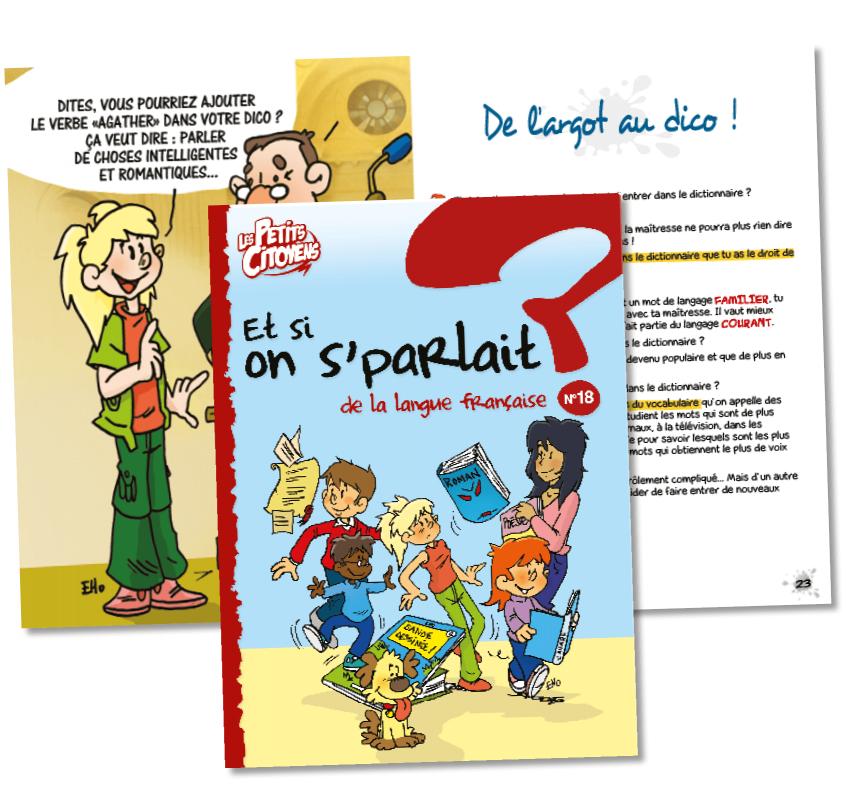 """Couverture de """"Et si on s'parlait de la langue française ? """""""