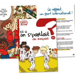 "Couverture de ""Et si on s'parlait du respect ? """