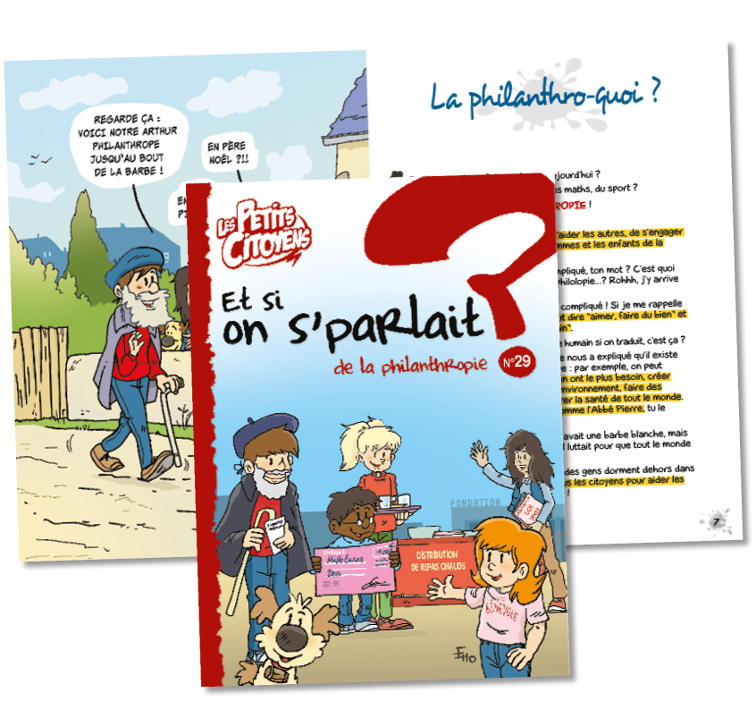 "Couverture de ""Et si on s'parlait de la philanthropie ? """