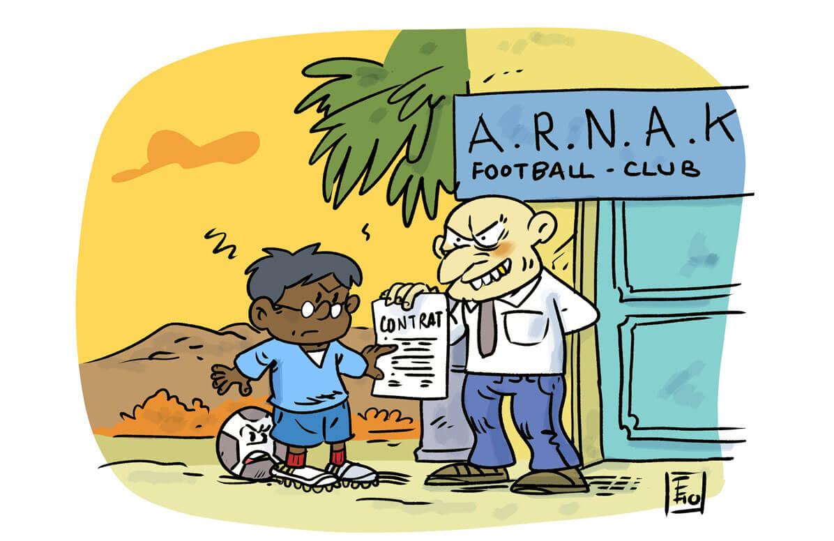 Une école contre l'exploitation des jeunes footballeurs au Ghana