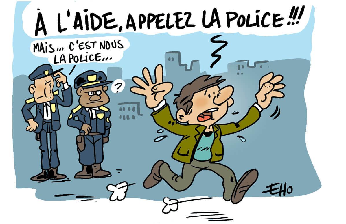 Situation tendue entre les policiers et les habitants des banlieues
