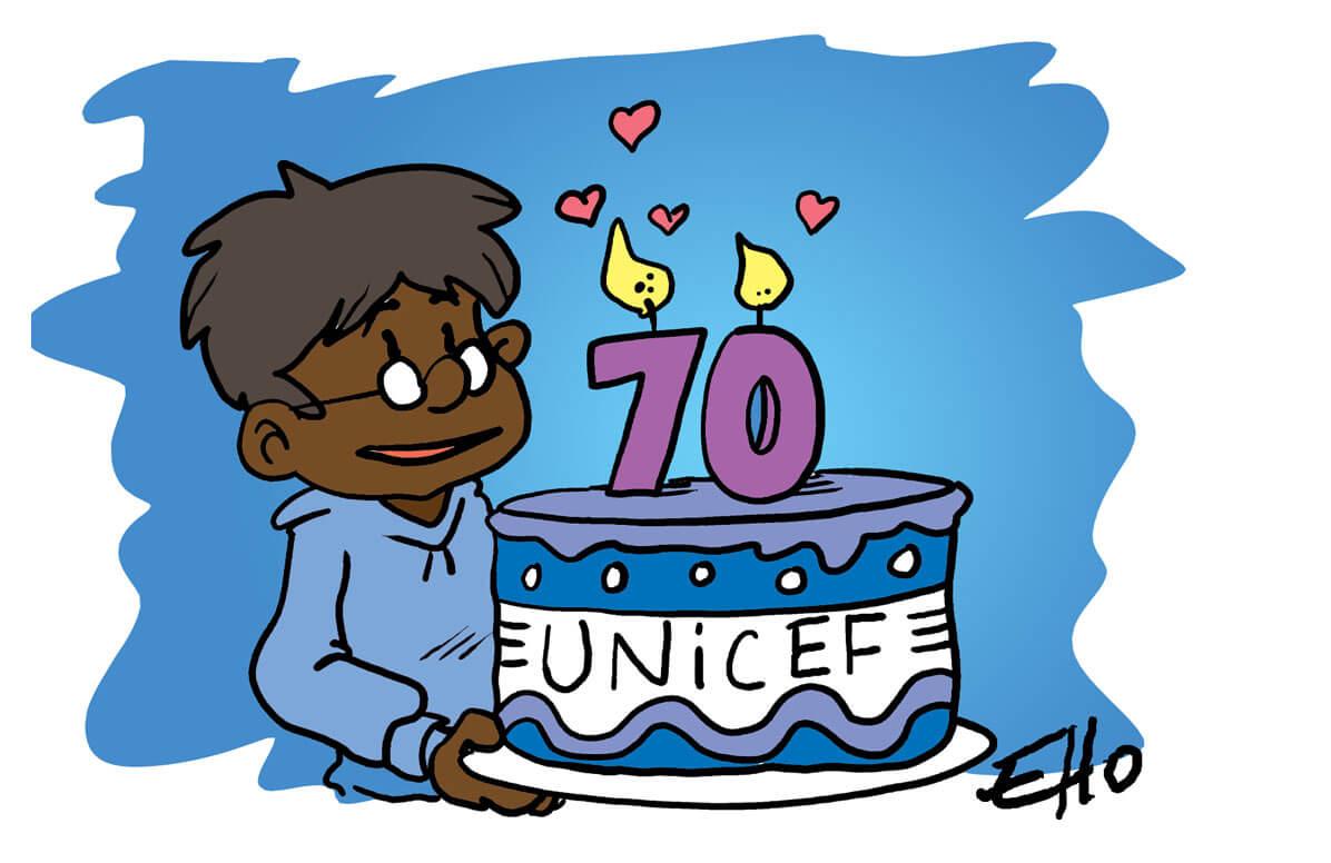 L'UNICEF fête ses 70 ans