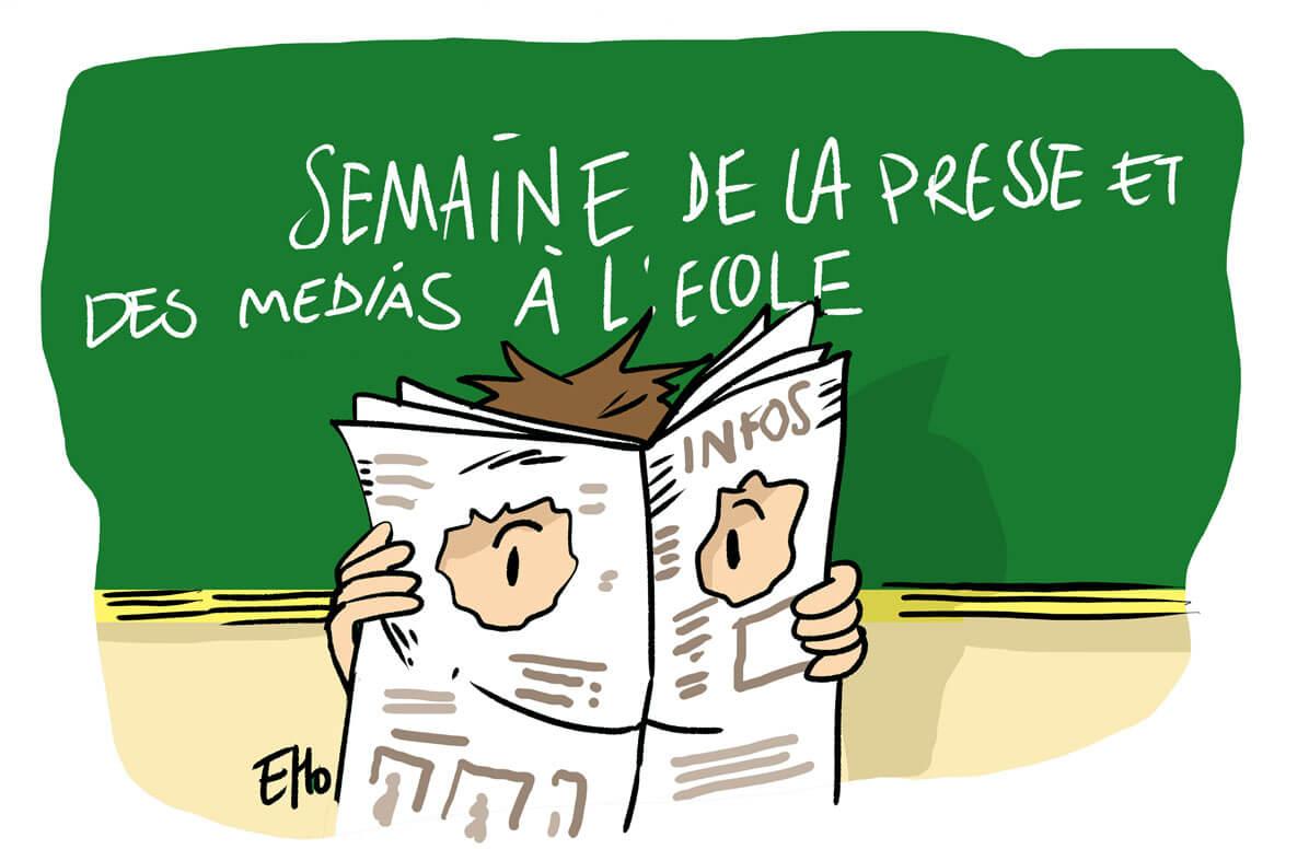 Semaine de la presse et des médias dans l'école