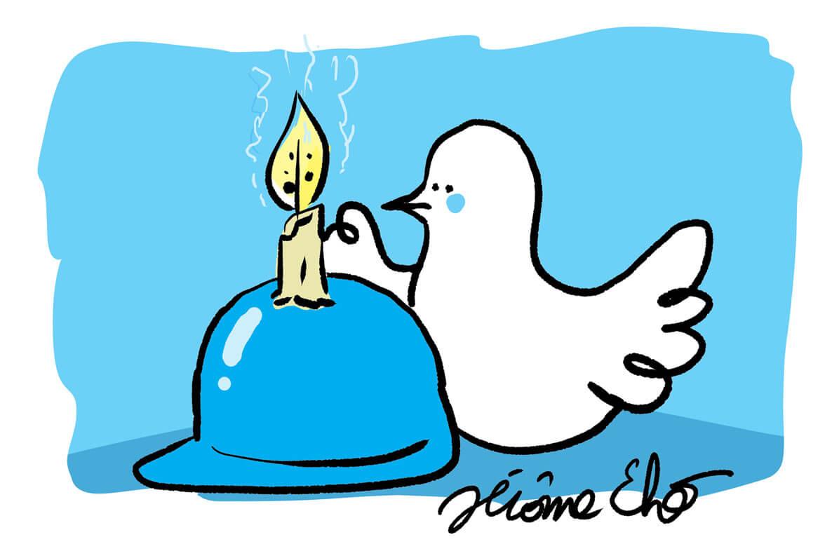 Journée mondiale des casques bleus