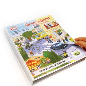 Ce kit pédagogique allie dessins, mots-mêlées, mots-croisés, quiz et questions.
