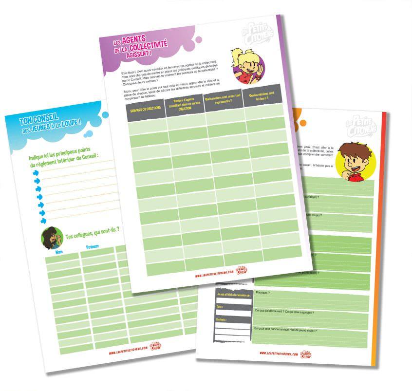 Un kit pédagogique pour les jeunes conseillers municipaux dès 9 ans