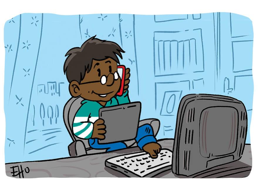 L'association Les petits citoyens développe ses outils sur des supports papiers et numériques