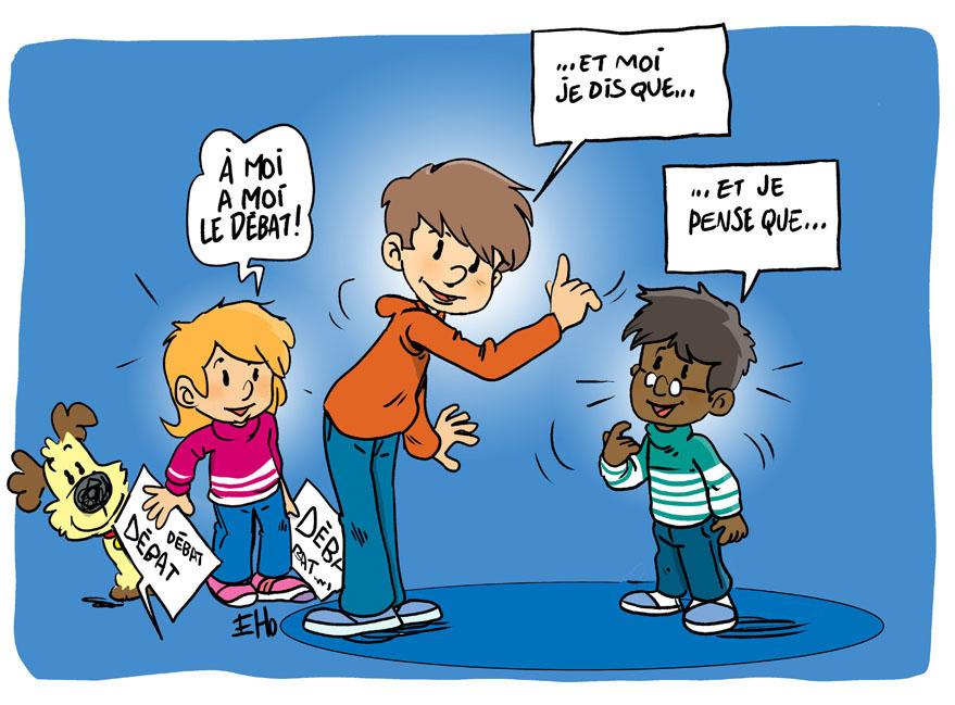 L'association Les petits citoyens propose une pédagogie active qui s'appuie sur le débat d'idées