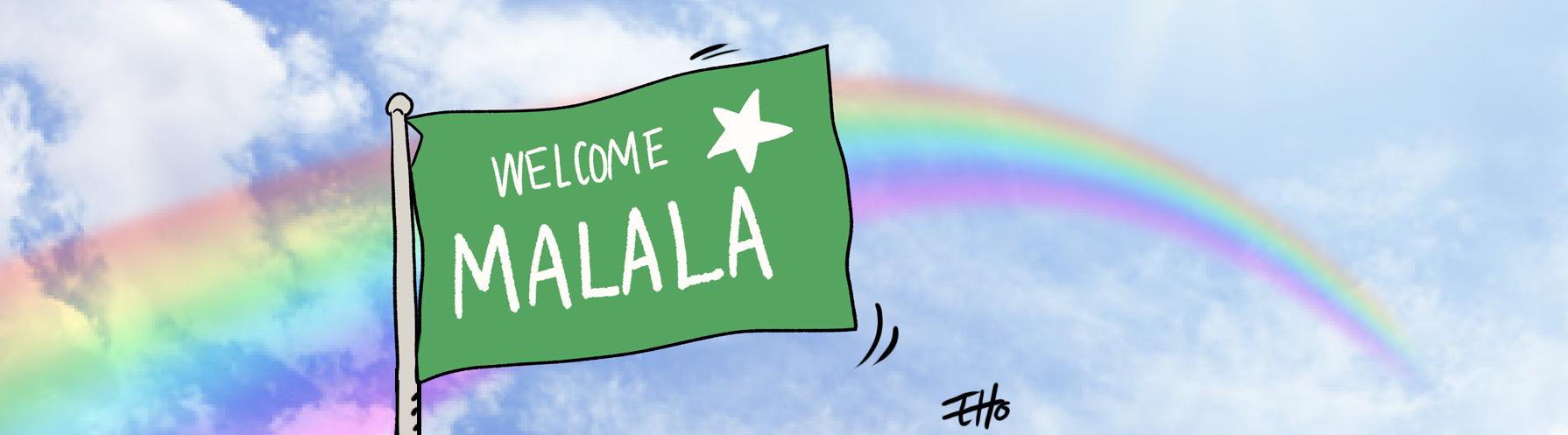 Malala Yousazfai est retournée au Pakistan