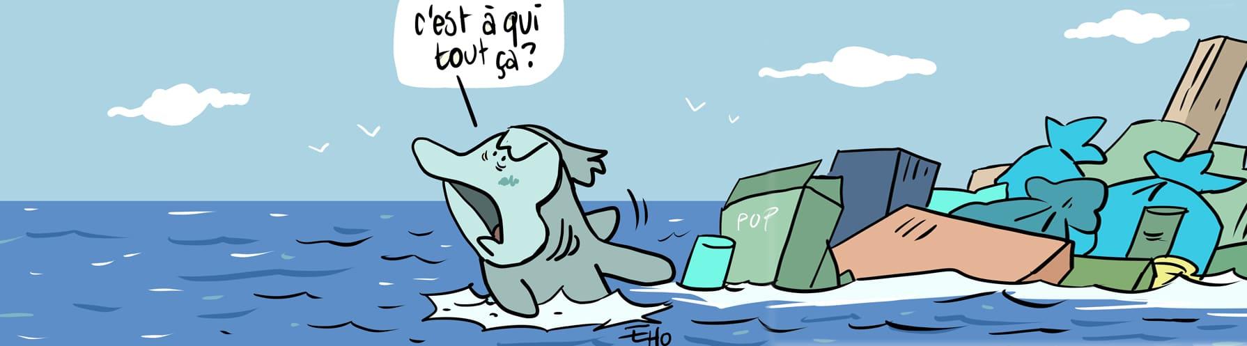 Premiers tests pour le nettoyeur des océans