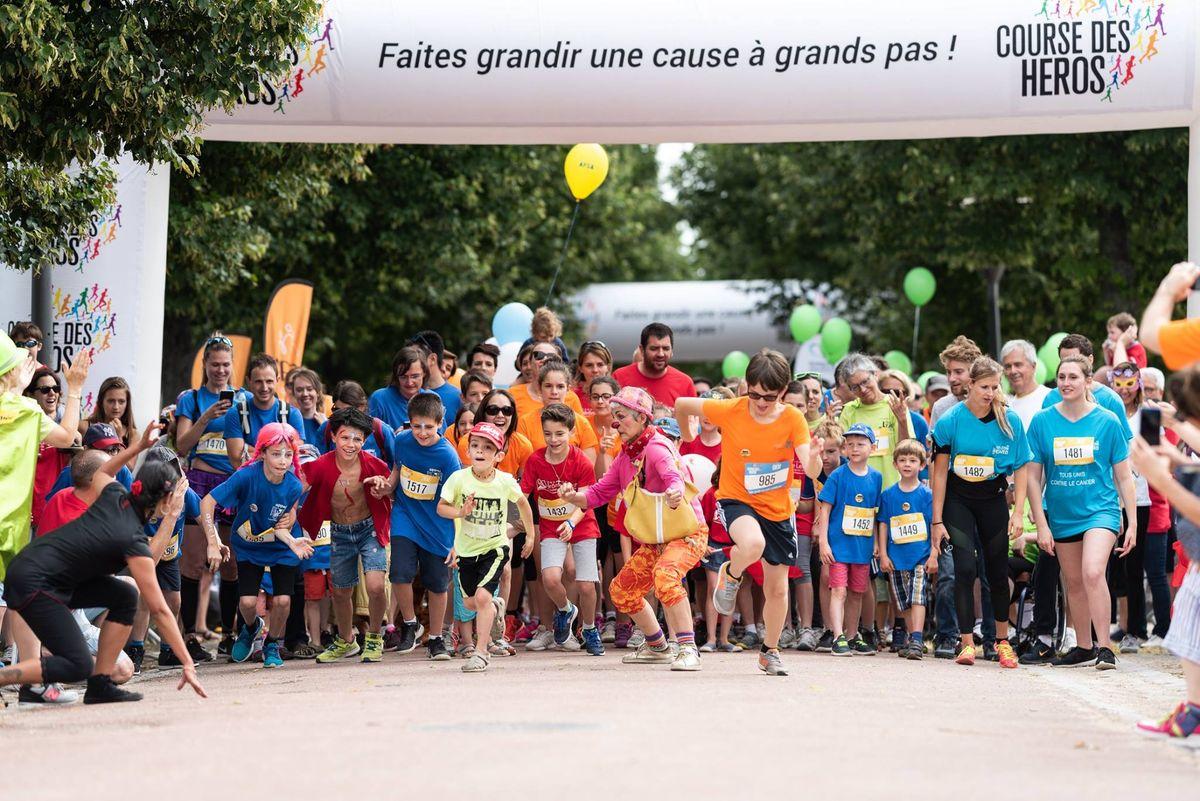 La course des Héros évènement sportif et caritatif