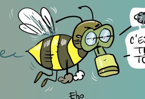 Interdiction des néonicotinoïdes, des pesticides dangereux pour les abeilles.