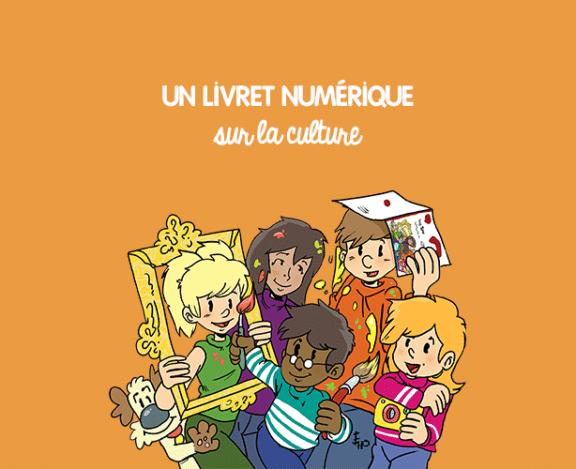 """Grâce au soutien du ministère de la Culture, l'association Les petits citoyens a adapté le livret """"Et si on s'parlait de la culture ?"""" en version animée."""