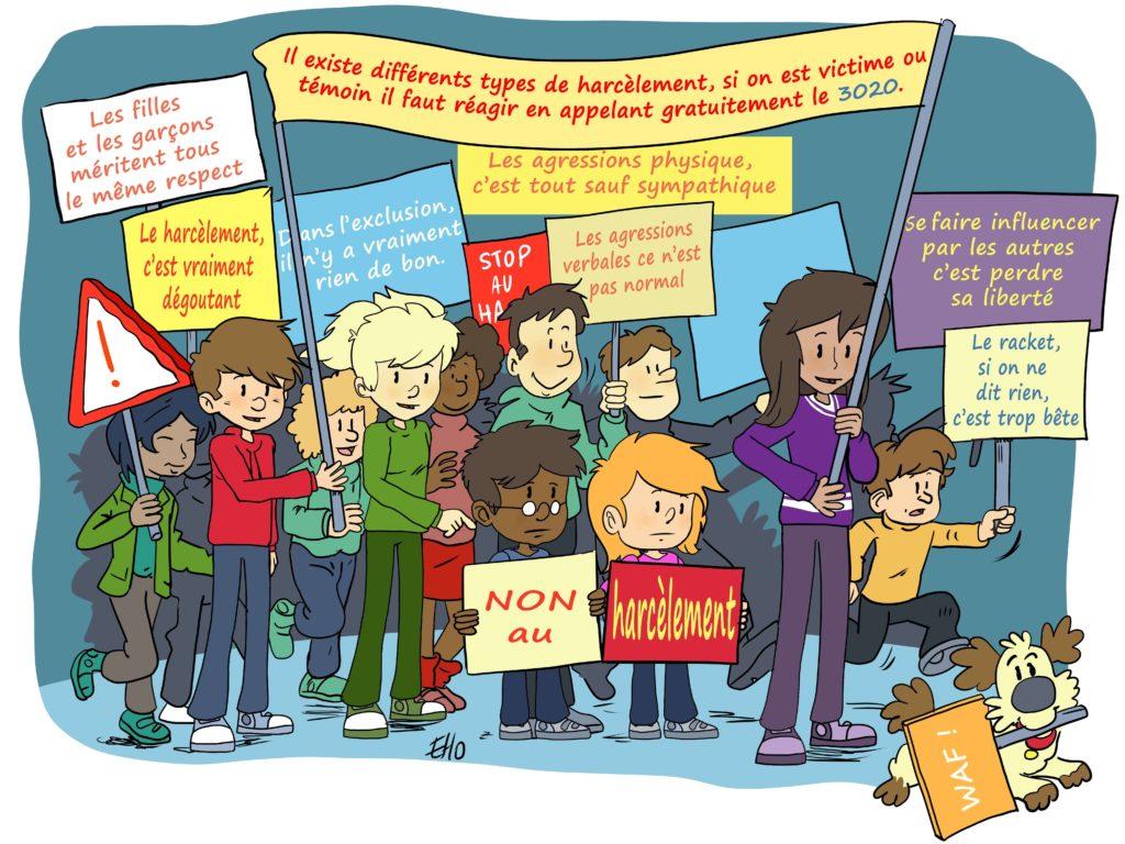 Lutte contre le harcèlement à l'école
