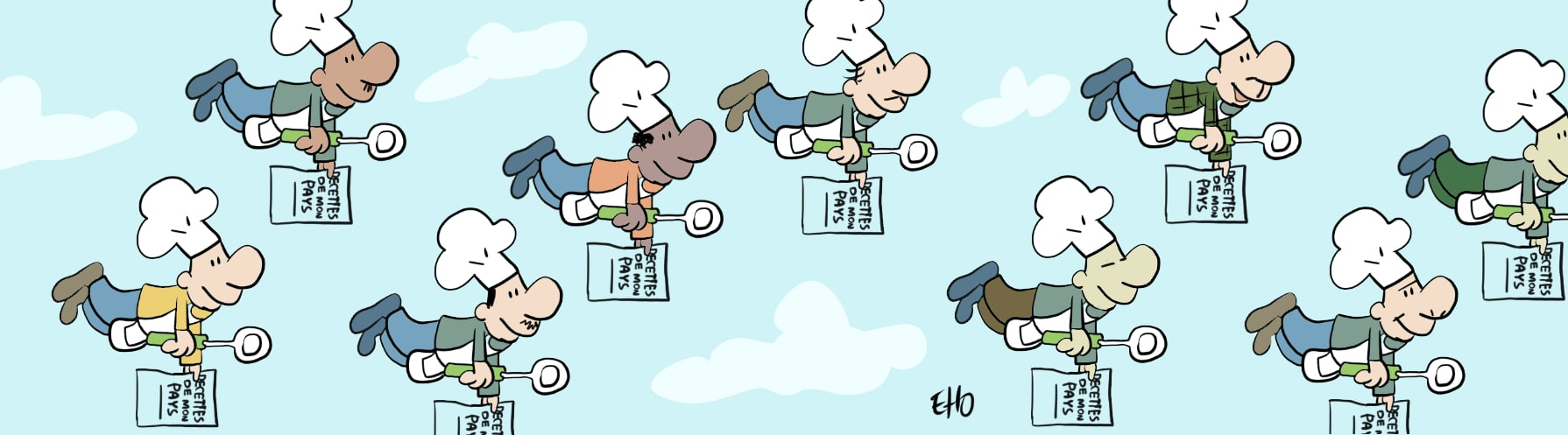 Les Cuistots Migrateurs, une cuisine de toutes les saveurs !