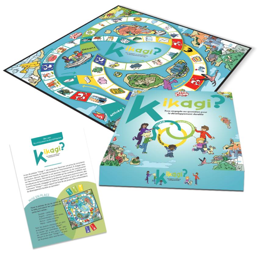 Kikagi - Le jeu pédagogique qui sensibilise les enfants aux enjeux du développement durable