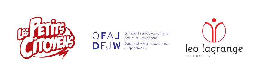 l'association Les petits citoyens, l'Office franco-allemand pour la jeunesse et la Fédération Léo Lagrange ont choisi de s'unir pour créer le livret « Et si on s'parlait d'Europe ? »