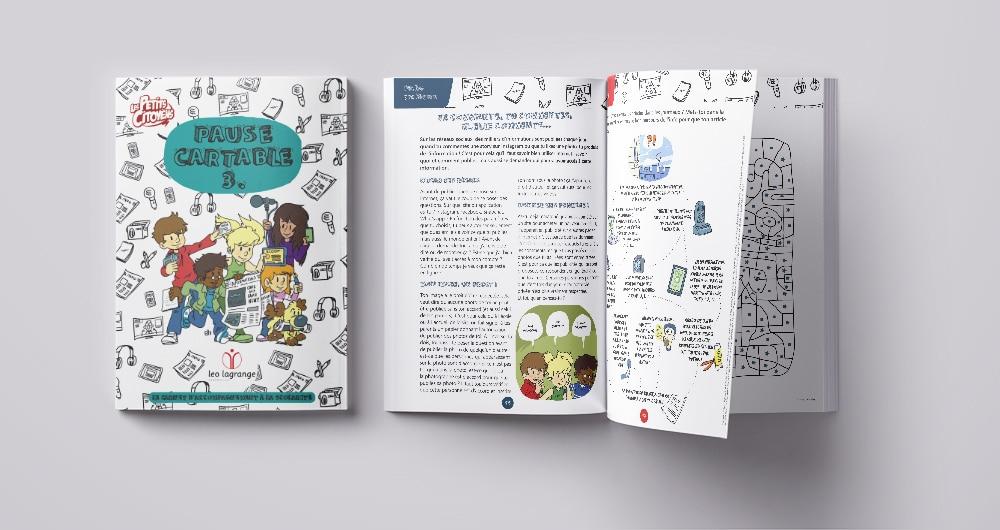 Pause cartable : le carnet d'accompagnement à la scolarité