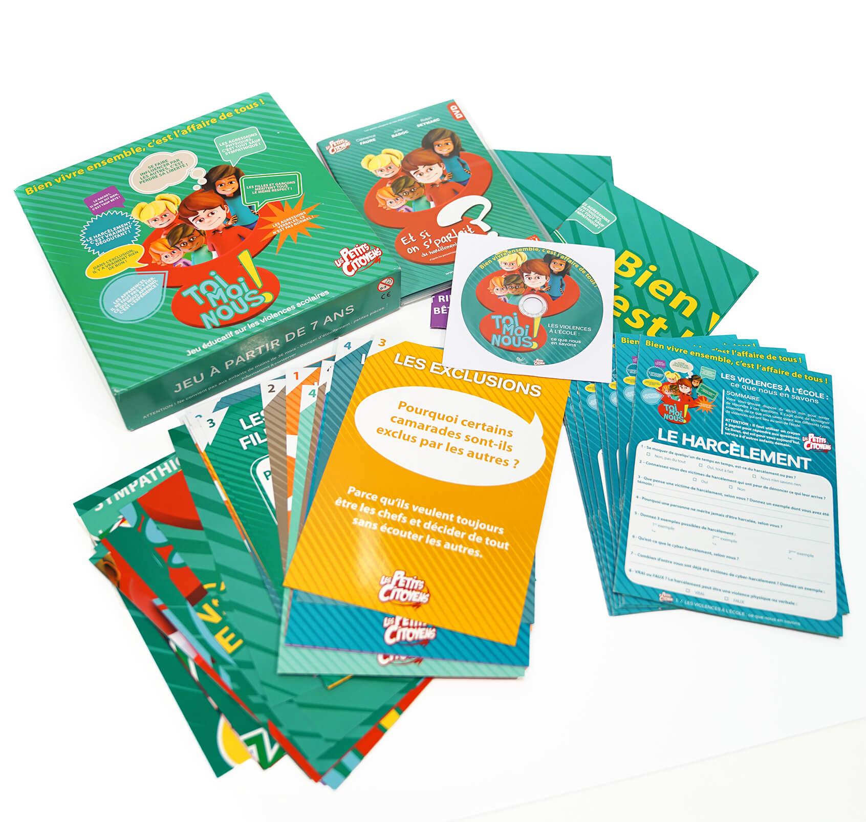 Kit pédagogique sur les violences à l'école